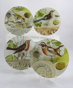 Take a look at this Bird Plate Set by Bella Vintage Home on #zulily today!
