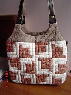 Patchwork Quilt Patterns, Patchwork Bags, Quilted Bag, Braid Quilt, Bags 2017, Linen Bag, Fabric Bags, Purses And Bags, Diaper Bag
