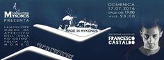 #madeinmykonos #loungemusic #aperitifmusic domenica 17.7.16 #francescocastaldo #tavernaouzerimykonos #tavernamykonosreggioemilia #tawernamykonos #solobellamusica #solobellecose #greece🇬🇷 #greeklife #greekstyle #greekmusic #greekfun