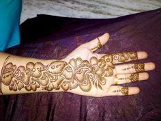 New heavy and stylish Indo Arabic mehndi design for front side hand llby New henna designs Mehndi Designs Front Hand, New Henna Designs, Mehandhi Designs, Indian Henna Designs, Latest Arabic Mehndi Designs, Stylish Mehndi Designs, Mehndi Designs For Beginners, Mehndi Designs For Girls, Mehndi Design Photos