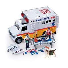 Electronic Ambulance & Rescue Team from CP Toys on shop.CatalogSpree.com, your personal digital mall.