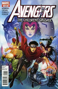 So, the Vision and Scarlet Witch's disavowed children are reavowed again? Wiccan and Speed take after Wanda and her brother Pietro (Quicksilver). Bullied as a gay teen, Billy Kaplan was rescued by the Witch; their encounter caused his own magic powers to form. Tommy Shepherd is a troubled teen spending most of his time in juvie hall.