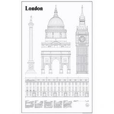 Studio Esinam's London Elevations poster