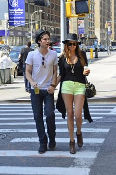 Nina and Ian... Just squeeze me right in the middle there!