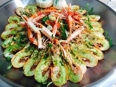Freshly caught langoustines! Have a look at our favourite seafood dishes...