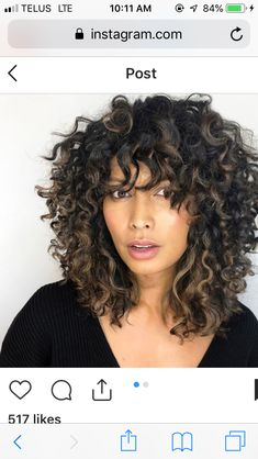 ideas with fringe inspiration ideas ideas square face hairstyle ideas 2018 ideas for thin hair ideas with clip in extensions hairstyle ideas reception day hairstyles ideas Curly Hair Cuts, Short Curly Hair, Thin Hair, Medium Hair Styles, Natural Hair Styles, Short Hair Styles, Curled Hairstyles, Pretty Hairstyles, Hairstyle Ideas