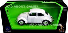 VW VOLKSWAGEN BEETLE 1:24 Scale Diecast Car Model Die Cast Cars Models White in Toys & Games, Diecast & Vehicles, Cars, Trucks & Vans | eBay!