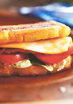 Jack & Guac Jibarito -- Made with ripe avocados, fresh plantains, bacon and a big slice of Colby cheese, this delicious sandwich recipe is ready to enjoy in just 20 minutes time.