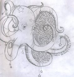 octopus drawing | Octopus Drawing Tattoo Image Tattooing Designs Pic #23