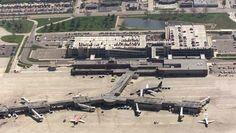 Des Moines Intl. Airport, Iowa.