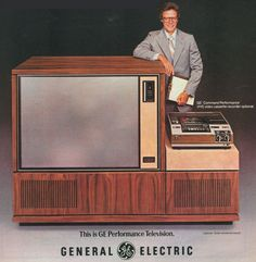 General Electric's 1978 Widescreen TV
