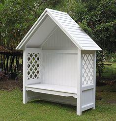 This excellent backyard gazebo is a really inspiring and good idea Garden Nook, Garden Arbor, Garden Yard Ideas, Backyard Pavilion, Backyard Landscaping, Backyard Gazebo, Small Gazebo, Gazebo Plans, Gazebo Ideas