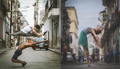 """O fotógrafo Omar Robles tem mais de 200 mil seguidores no Instagram, e esse número só tende a crescer, já que a sua nova série de fotografias com alguns dos melhores bailarinos do mundo nas ruas de Cuba é nada menos do que hipnotizante. """"Aqui estão alguns dos melhores bailarinos do mundo"""", escreveu Robles no..."""