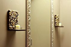 When I have a house I will definitely make sconces like this.