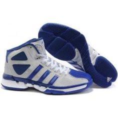 pretty nice d4db4 e29eb Adidas Pro Model Zero basketball white blue shoes for sale   3K-Store Adidas