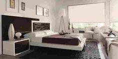 Dormitorio en negro con detalles en blanco Bed, Furniture, Home Decor, Hipster Dorm, Space, House Decorations, Little Cottages, White People, Black