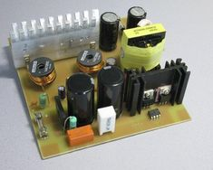schema alimentation a decoupage demi pont irs2153 2 Power Supply Circuit, Electronics Projects, Mixer, Circuits, Music Instruments, Garden Cultivator, Audio Amplifier, Computer Maintenance, Switched Mode Power Supply