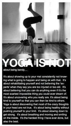 Yoga is not...