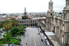 Beautiful Arequipa Cathedral