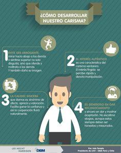 Cómo desarrollar nuestro carisma #infografia #infographic