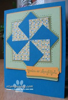 Faux Quilt by You Betcha! - Cards and Paper Crafts at Splitcoaststampers