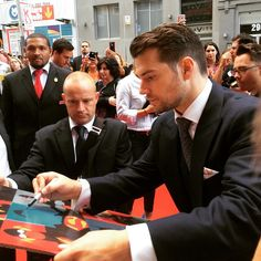 Right after this he proposed to me. #HenryCavill #ManFromUNCLE