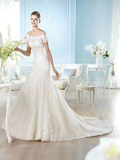 Vestido de novia, modelo Hafli de St. Patrick 2014  www.sanpatrickgranada.es