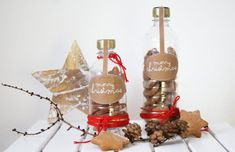 cookies in the bottle - christmas diy {Upcycling} by http://titatoni.blogspot.de/