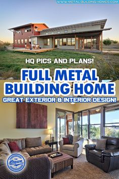 This Japanese Inspired Metal Home has left many gaping at awe!This two-storey steel house bathes in copper red and off white paint finish, giving the house a modern, classy and sophisticated look. It also comes with an open patio, a perfect place to go stargazing or simply relax under the warm afternoon heat. #metalhousing #metalhouse #Metalbuildinghomes #housingsolution Metal Building Homes, Metal Homes, Building A House, Steel Frame House, Steel House, Free House Plans, Off White Paints, Modern Farmhouse Plans, Copper Red