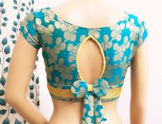 Blouse Back Neck Designs, New Saree Blouse Designs, Netted Blouse Designs, Blouse Designs Catalogue, Simple Blouse Designs, Stylish Blouse Design, Blouse Neck, Traditional Blouse Designs, Baby Frocks Designs