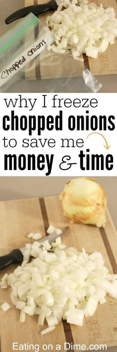Can you Freeze Onions? - Easy tips to freeze onions that will help you save time and money.