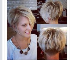 Messy hairstyles for short hai |