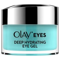 Olay Deep Hydrating Eye Gel with Hyaluronic Acid for Tired Eyes, fl oz Oil Of Olaz, Dry Eyes Causes, Tired Eyes, Eye Gel, Face Serum, Olay, Cool Eyes, Skin Care Tips, Moisturizer