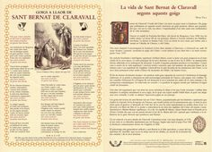 Goigs nº 171 - Bernat de Claravall - BCN - 2012