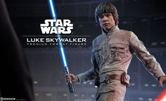 "Star Wars Luke Skywalker Star Wars Premium Format(TM) Figure ""No.  No.  That's not true.  That's impossible!"" You know it to be true- Next in our line of Star Wars collectibles, Sideshow is excited to present the Luke Skywalker Premium Format Figure. After growing strong with the Force on Dagobah, Luke Skywalker returns to Bespin to …"