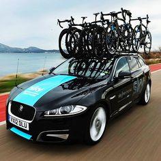 cycling Team Sky TDF 2013 support car