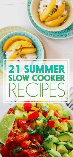 21 Slow Cooker Recipes To Try This Summer