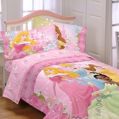 @Overstock - Add an adorable touch to your little girl's bedroom with this 'Dainty Princess' bedding from Disney Princess. A comforter and sheet set finish this bed in a bag.   http://www.overstock.com/Bedding-Bath/Disney-Princess-Dainty-Princess-4-piece-Bed-in-a-Bag-with-Sheet-Set/7463597/product.html?CID=214117 $84.99