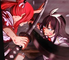 Erza Vs. Kagura - Is Time To Fight by Ricardo9Tomate.deviantart.com on @deviantART