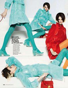 Miu Miu Editorials #233 - Elle Italia April 2014 andJalouse - Miu Miu Addict - Miu Miu Addict