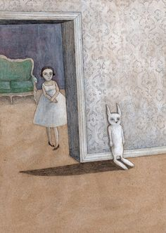Is anyone there? by Katrine Kalleklev