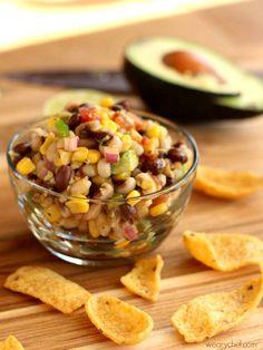 Black Eyed Pea Dip or Salsa - I'm adding some California flavor to Mississippi…