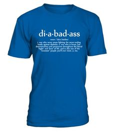 # Diabadass Diabetic .  Join us to increase Diabetes Awareness by wearing this apparel fromDIABEAUTIQUE.The perfect vest for men & women who manage a condition with diabetes.  10% of proceeds will be donated to Juvenile Diabetes Research Foundation. High-Quality products Available in a variety of styles and colors Special Offer, not available anywhere else! Secured payment via Visa / Mastercard / Amex / PayPal Tip:If you buy 2 or more(hint:make a gift forsomeone or team up) you'll save…