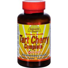 Dynamic Health Tart Cherry Complete with CherryPure - 60 Vegetable Capsules - Dynamic Health Tart Cherry Complete with CherryPure Description: Anti-Inflammatory Formula Tart Cherries contain naturally occurring melatonin and anthocyanins which recent studies have shown may reduce inflammation throughout the body and may offer a relief of minor joint pain. Additionally, melatonin is regarded as a natural sleep aid. Dynamic Health Tart Cherry Complete is a unique synergetic formula containing…