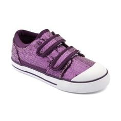 Elderflower Purple Sequin Girls Shoes
