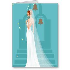 Light Blue Wedding Invitation