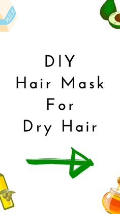 Diy Hair Mask For Dry Hair, Hydrating Hair Mask, Skin Care Routine Steps, Deep Conditioning, Queen Hair, Homemade Skin Care, Shiny Hair, Damaged Hair, Diy Hairstyles