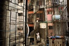 """Robin Hammond set out to document Lagos, a teeming metropolis where """"intimacy and exclusion, love and hate, laughter and insult regularly rub shoulders"""" on its streets. Robin, The Lying Game, Stair Steps, Slums, Urban Photography, Stairs, Culture, Google Search, Architecture"""