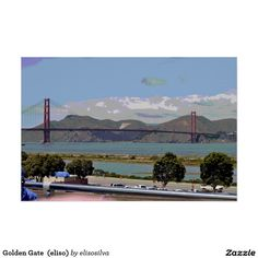Golden Gate  (eliso) Póster