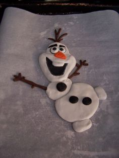 Guru Donna Kay: Do You Wanna Build A Snowman? Polymer Clay Olaf Tutorial